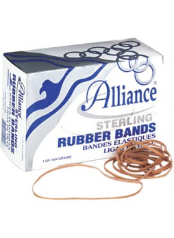 "Sterling 25405 Rubber Band, 7"" x 0.13"", Box of 1Lb"