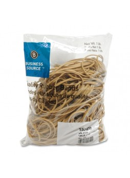 "Business Source 15729 Quality Rubber Band, 7"" x 0.13"", pack of 200"