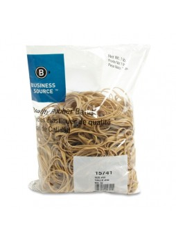 "Business Source 15741 Quality Rubber Band, 3"" x 0.13"", Pack of 700"