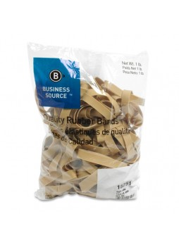 "Business Source 15751 Quality Rubber Bands, 3.50"" x 0.50"", Pack of 150"