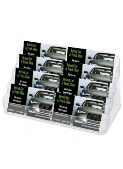 Business card holder, Acrylic - 1 Each - Clear - def70801