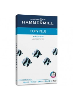 "Copy paper, For Inkjet Print - Legal - 8.50"" x 14"" - 20 lb Basis Weight - 92 Brightness - 500 / Ream - White - ham105015"