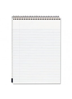 "Notepads, 70 Sheets - 20 lb Basis Weight - 8.50"" x 11.75"" - 1Each - White Paper- Notepad - mea59882"