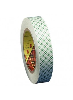 "1"" Width x 36 yd Length - 3"" Core - 5 mil Rubber Backing - Temperature Resistant, Solvent Resistant - 1 / Roll - Clear - mmm410m1"
