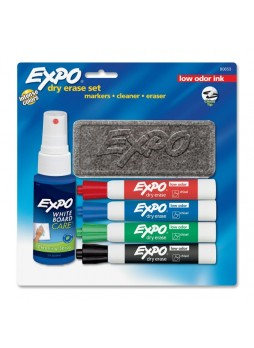 Expo 80653 Low Odor Dry Erase Set, Assorted, Set of 4
