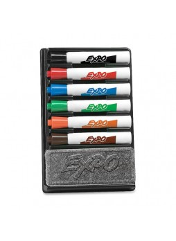 Expo 83056 Dry Erase Marker, Assorted, Pack of 6