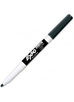 Expo 86001 Fine Point Marker, Black, Dozen