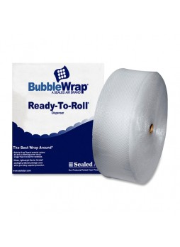 "Wrap, 12"" Width x 250 ft Length - 187.5 mil Thickness - 1 Wrap(s) - Lightweight, Perforated - Clear - sel33246"