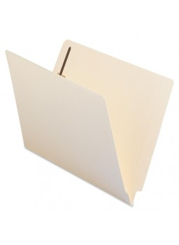 "Letter - 8.50"" Width x 11"" Sheet Size - 0.75"" Expansion - 2 - 2"" Fastener Capacity for Folder - 11 pt. Folder Thickness - Manila - Recycled - 50 / Box - smd34115"