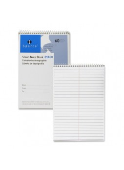 "60 Sheets - 15 lb Basis Weight - 6"" x 9"" - 1Each - White Paper- Notepad - spr01408"