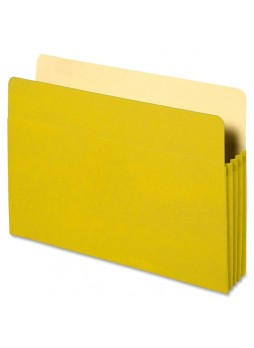 "Accordion, 9.50"" Width x 11.75"" Sheet Size - 3.50"" Expansion - Yellow - Recycled - 1 Each - spr26553"