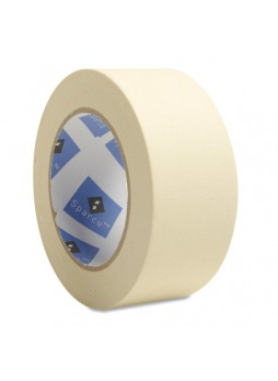 "2"" Width x 60 yd Length - 3"" CoreCrepe Paper Backing - 1 Roll - Tan - spr64003"