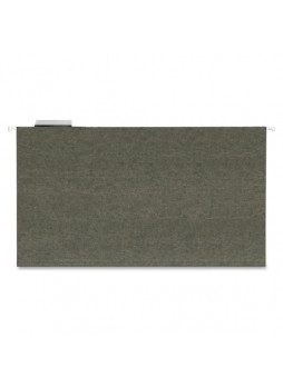 "Legal - 8.50"" Width x 14"" Sheet Size - 1/5 Tab Cut - 11 pt. Folder Thickness - Green - Recycled - 25 / Box - sprsp5315"