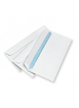 Business Source Business Envelopes, #10, 24lb, Peel & Seal, White, Box of 500