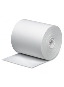 "Business Source 31827 Single Ply Roll, 3"" x 165ft, Pack of 12"