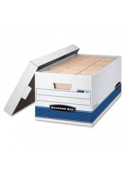 Bankers Box 00701 Stor/File - Letter, Lift-Off Lid, Medium duty, Box of 12