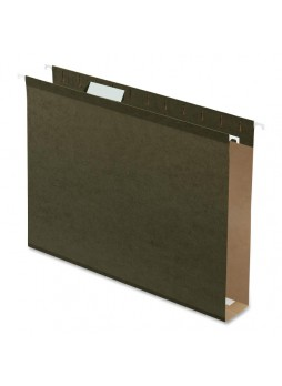 "Business Source 43851 Hanging Box Bottom File Folder, Letter size, 2"" expansion, Box of 25"