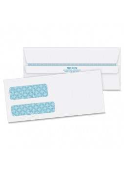 Quality Park, Redi-Seal 2 Window Envelopes, QUA24529, Double windows, #9, self sealing, Box of 500