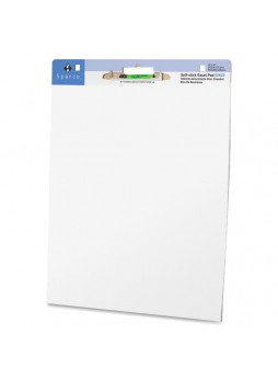 Sparco 52625 Plain Self-stick Easel Pad , 30 sheets, Box of 2