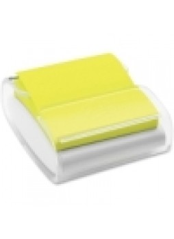 Post-it WD330WH WD330 Pop-Up Dispenser, Clear, Each