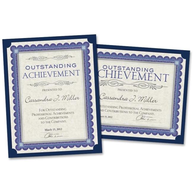 Special Paper Certificates